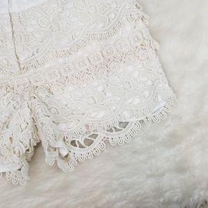 LOFT Shorts - LOFT lace short